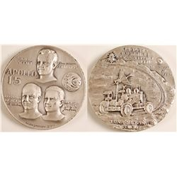 Commemorative Medallion (Silver) Apollo 15