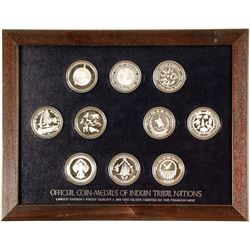 Franklin Mint - Coin-Medals of Indian Tribal Nations - VOLUME 3 (only one)