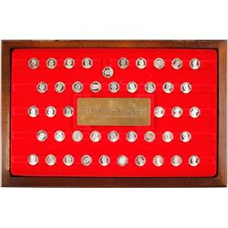 Kings and Queens of England - mini coin set - The Franklin Mint