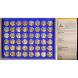 Osborne Mint - American Indian Leaders Historic Medallion Collection