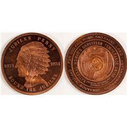 Souvenir Medallion (Jubilee Penny)