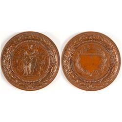 Exposition International Souvenir Medallion