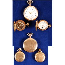 Gold Plated Pocket Watches (3)