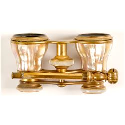 Marchand Mother of Pearl Opera Glasses