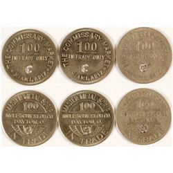 Commissary Market Tokens