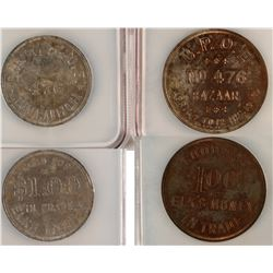B.P.O. Elks Tokens