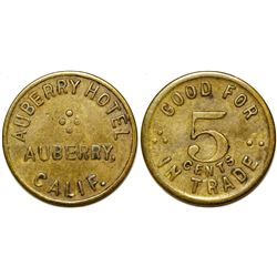 Auberry Hotel Token