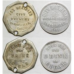 City Brewery Tokens