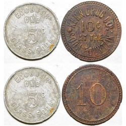 Soda Fountain Tokens