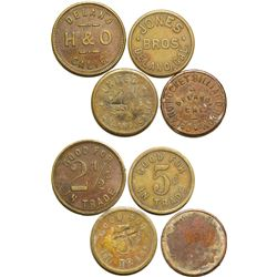 Four Delano Tokens