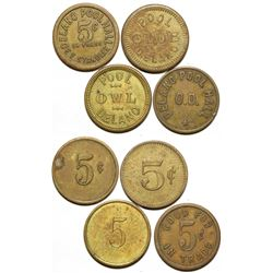 Pool Hall Tokens