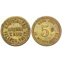 Associated Midway Club Token