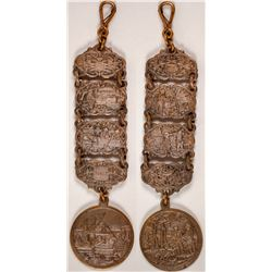 19th century Hunting and Fishing Fob