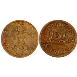 Carson Hot Springs Token
