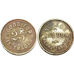 Nevada Saloon Token