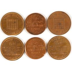 Club Bingo/Commercial Hotel Tokens