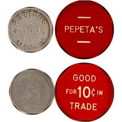 Pepeta's Saloon Tokens