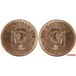 Bat Masterson Lucky Dollar Token Die