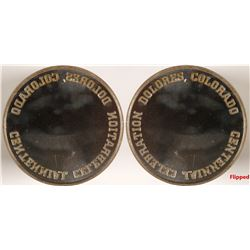 Dolores, Colorado Centennial Token Die