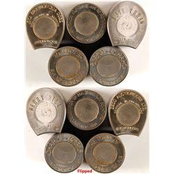 Five Virginia Encased Cent Die