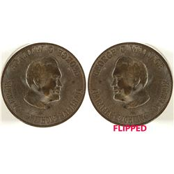 George C. Wallace Token Die