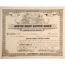 Arctic Chief Copper Mines Stock