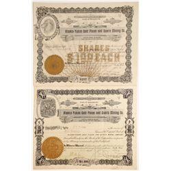 Alaska-Yukon Gold Placer and Quartz Mining Company Stock