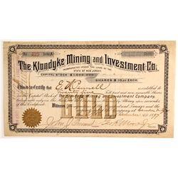 Klondyke Mining & Investment Company Stock