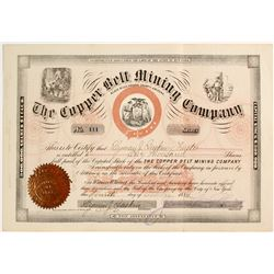 Copper Belt Mining Company Stock