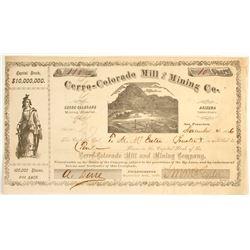 Cerro-Colorado Mill & Mining Company Stock
