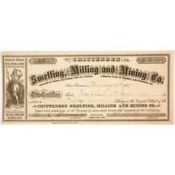 Crittenden Smelting, Milling and Mining Company Stock