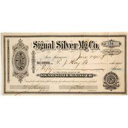 Signal Silver Mining Company Stock