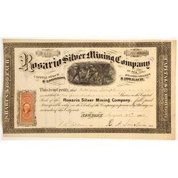 Rosario Silver Mining Company Stock