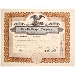 Capella Copper Stock #1