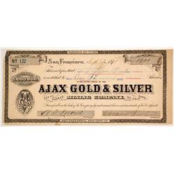 Ajax Gold & Silver Mining Company Stock