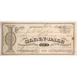 Glynn-Dale Consolidated Gold Mining Company Stock