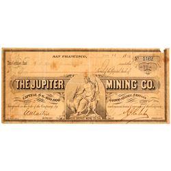 Jupiter Mining Company Stock