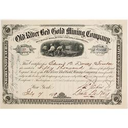 Old River Red Gold Mining Company Stock