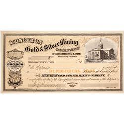 Muckton Gold & Silver Mining Company Stock