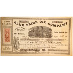 Blue Slide Oil Company, Eureka, Humboldt County