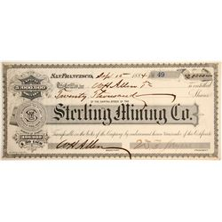 Sterling Mining Company of Fresno