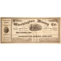 Washington Mining Company Stock