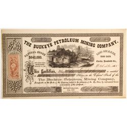 Buckeye Petroleum Mining Company, Mattole District, Humboldt County