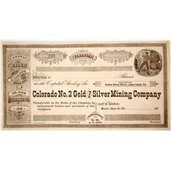 Colorado No. 2 Gold and Silver Mining Company