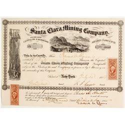 Santa Clara Mining Company Stock