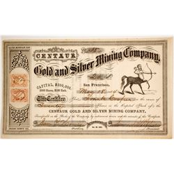 Centaur Gold & Silver Mining Company Stock