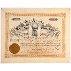 Atlas Mining Company Stock