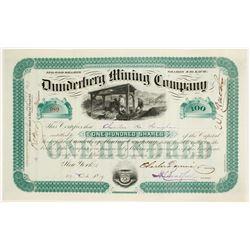 Dunderberg Mining Company Stock