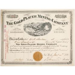 Gold Placer Mining Company Stock