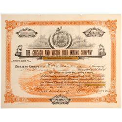 Chicago and Victor Gold Mining Company Stock